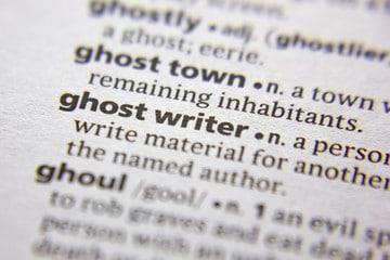 écrivain fantôme
